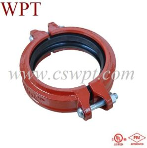 Wpt Brand Flexible Coupling with UL&FM Certificate Malleable Iron Fittings