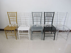 2015 Professional Design Stacking Clear Resin Chiavari Chair pictures & photos