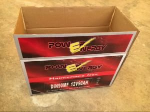 DIN90mf 12V90ah Maintenance Free Car Battery pictures & photos