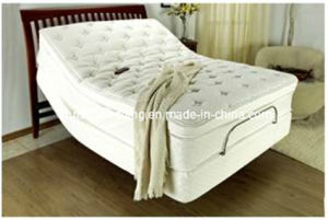 New Design Relax Sexy Design Electric Bed Adjustable Bed with Massage Function pictures & photos