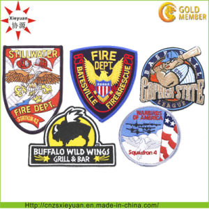 Custom Embroidery Military Patch Shoulder Badges pictures & photos
