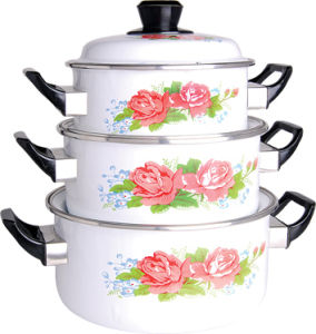 Porcelain Enamel Casserole Set and Beeutiful Coolkware Set pictures & photos