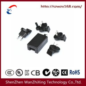 12W~24W Power Adapter with Replaceable Plug (EU/AU/U. S/UK) pictures & photos