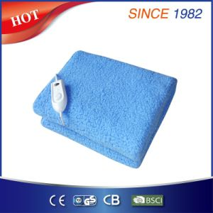 Plush Fleece Electric Heating Underblanket with Over Heat Protection pictures & photos