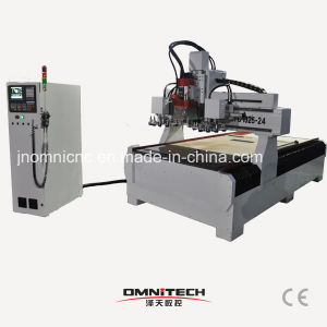 24 Tools 1325 Atc CNC Wood Cutting Machine pictures & photos