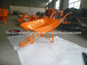 Metal Barrow Wheelbarrow for Nigeria pictures & photos