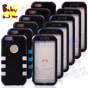 Robot Case for iPhone 6, Simple for iPhone Case for iPhone 6, 6 Colors, 2 Layers.