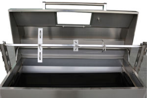 Charcoal Grill Lamb Pig Roaster BBQ Spit Upper Lid pictures & photos