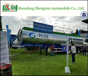 ASME Standard Aluminum Alloy Fuel Tank Semi Trailer in South Africa