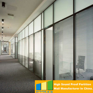 Operable Movable Glass Wall Partition of Shopping Mall