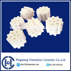 High Alumina Ring with 6 Holes (Al2O3: 99%) pictures & photos