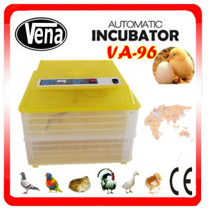 2014 Newest CE Approved Full Automatic Transparent 264 Quail Eggs Va-96 Egg Incubator for Sale pictures & photos