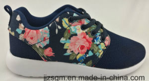 Beautiful Chinese Flower Pattern Casual Shoes for Lady pictures & photos