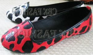 Fashion Milk Cow Fake Fur Flat Women Shoes (A130101540)