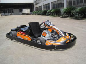 New Go Kart With Plastic Safety Bumper and Engine Cover