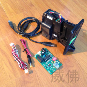 Coin Acceptor Adapter Board to Computer RS232 COM Port pictures & photos