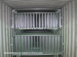 Hot-DIP Galvanized Metal Pedestrian Concert Crowd Control Barrier pictures & photos