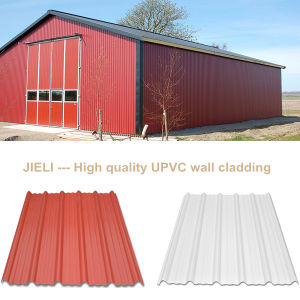 Corrugated PVC Wall Sheet pictures & photos