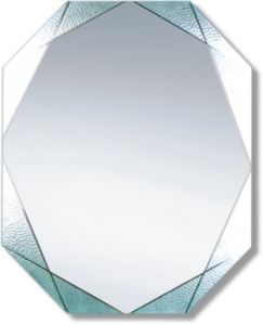 Economical Decorative Silver Bathroom Mirror (JNA037) pictures & photos