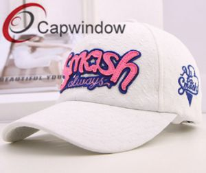 Promotional Simple White Fashion Leisure Sport Lady′s Baseball Cap pictures & photos
