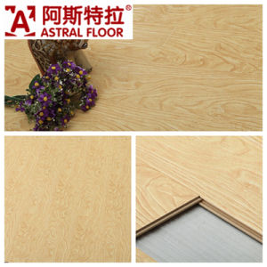 Jiangsu Changzhou Registered Embossed Surface (V-groove&U-groove) Laminate Flooring (AT001) pictures & photos