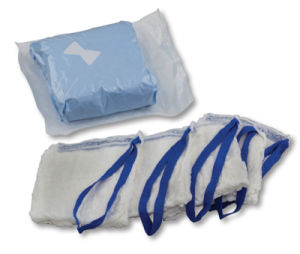 Sterile Lap Sponges, 100% Cotton, with X-ray Detectable pictures & photos
