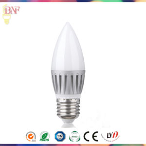 Silver C37 LED Candle Factory Bulb for New LED Products pictures & photos