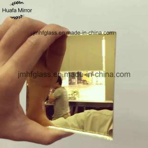 Wholesale Decoration Gold Mirror Sheet