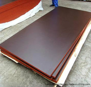 High Quality Eucalyptus Core WBP Phenolic Glue Film Faced Plywood pictures & photos
