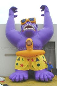 Inflatable Gorilla Air Balloon for Advertisement (K2030) pictures & photos