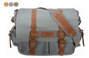 Canvas Laptop Messenger Bag, Shoulder Bags (BS16027) pictures & photos