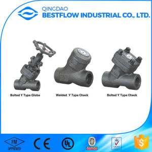 Forged Carbon Steel Y Type Globe Valve pictures & photos