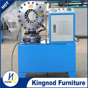 Efficient Pressing Machine Tool Finn Power Hydraulic Hose Crimping Machine pictures & photos