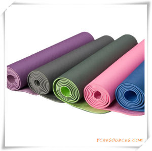 Yoga Mat, Eco-Friendly EVA Yoga Mats for Promotion pictures & photos