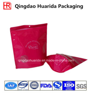 Custom Printed Stand up Garment Packaging Bag with Zipper pictures & photos
