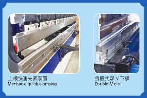 Wdb Series CNC Electro-Hydraulic Servo Synchronized Press Brake pictures & photos
