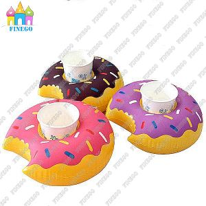 Pool Floats Inflatable Palm Tree Flamingo Umbrella Donut Drink Holder pictures & photos