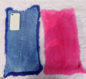 100% Real Rex Rabbit Fur Plate /Blanket Factory Wholesale pictures & photos