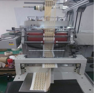 Self-Adhesive Printed Label Die Cutting Machine pictures & photos