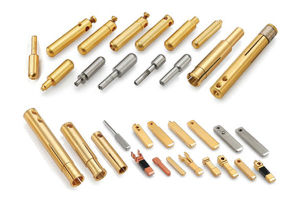 Fine Quality Precision Spindly Brass Contact Pins in China Factory pictures & photos