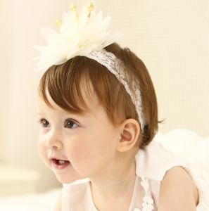 2017 Wholesale Fashion Baby Hair Accessories Bowknot Head Band Flower Hair Band pictures & photos