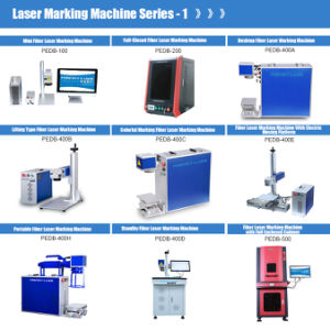 20W 30W 50W Plastic Ring Phone Case Tag Fiber Laser Marking Machine for Metal pictures & photos