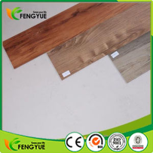 Black Color Wood Grain Unique Environmental Vinyl Flooring pictures & photos