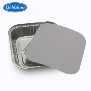 Best Selling Healthy Food Grade Aluminum Foil Container for Food pictures & photos