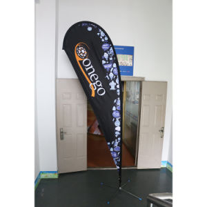 4.5m Advertising Cheap Printing Promotion Feather Flag Supplier pictures & photos