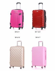 Trolley Luggage with 360 Degrees Rotating Wheels, Made of ABS+PC pictures & photos
