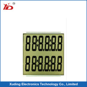 Tn Transmissive LCD Display for Gas Dispenser pictures & photos