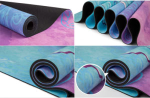 7 Chakras Custom Printed Yoga Mat Non-Slip Combo Towel and Mat pictures & photos
