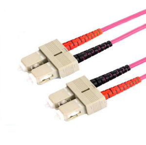 10g SC/PC Om4 Fiber Optic Pigtail for FTTH Application pictures & photos