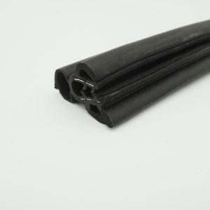 Metal Plastic Co-Extrsion EPDM Foam Rubber Strip for Automobile Door pictures & photos